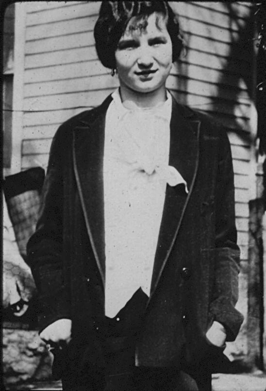 Mary Kuzma, my paternal grandmother, as a young girl.