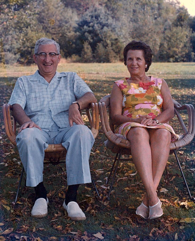 Gumdaddy and Grandma as I will always remember them.