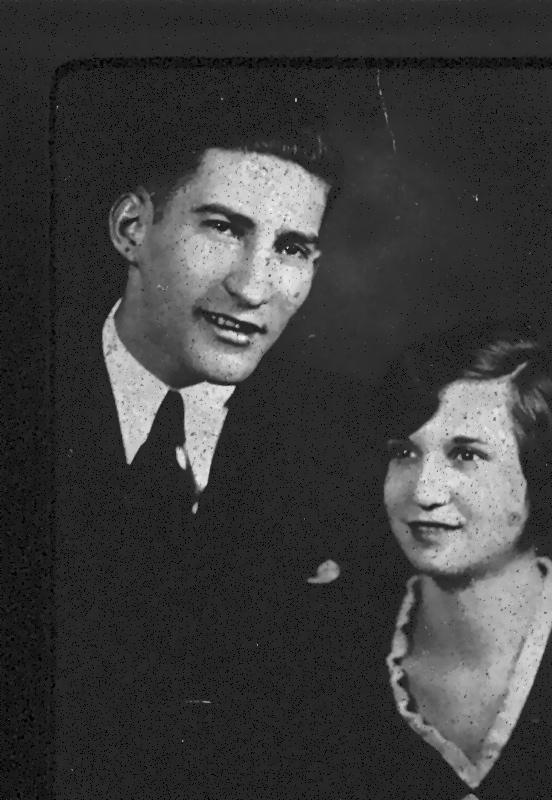 """Gumdaddy"" (my childhood version of Grandaddy) and Grandma, on their wedding day. They were both 20 years old."
