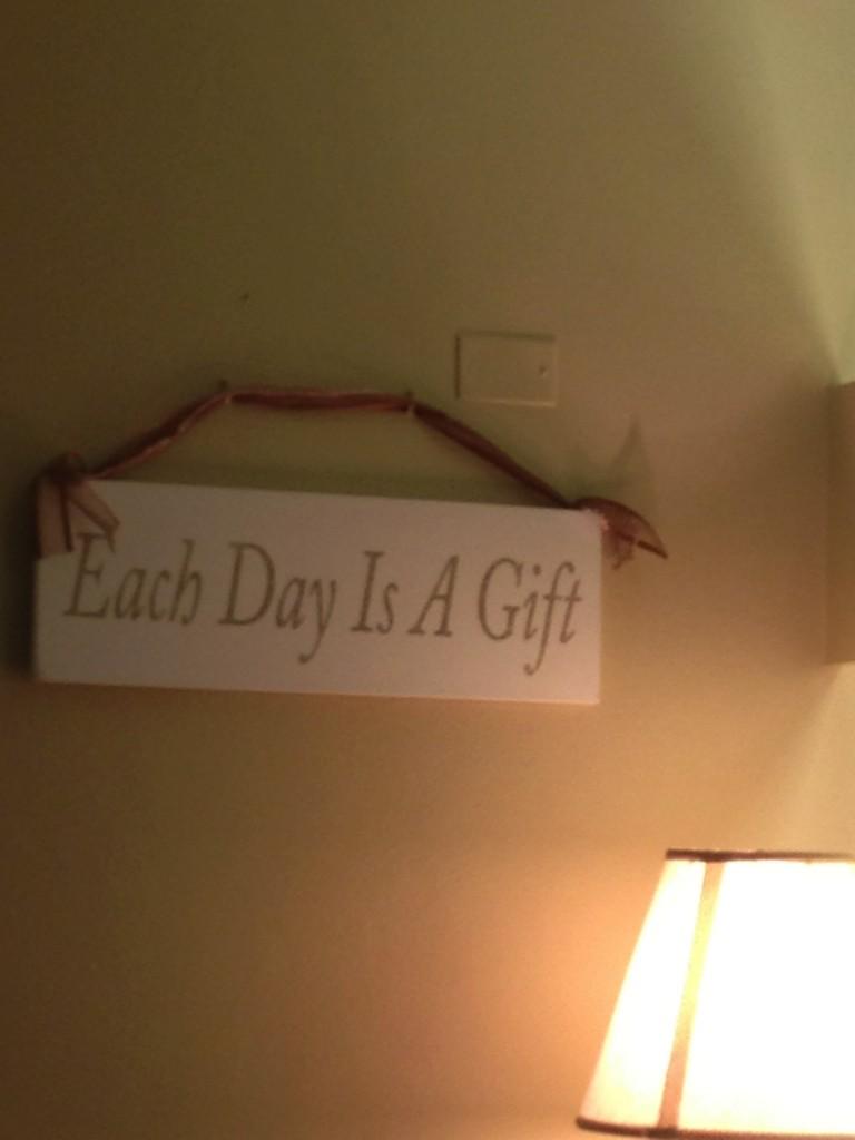 My Mom's motto